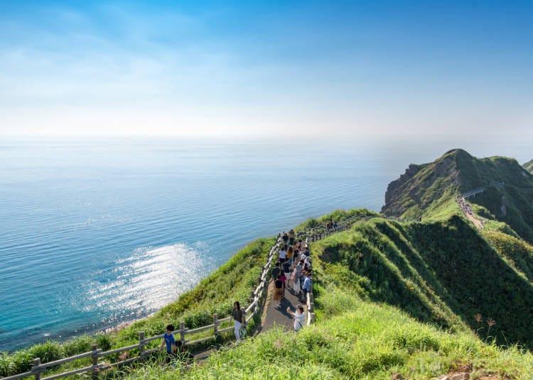 2. 카리브해의 섬보다 아름다운 해변이 일본 홋카이도에도 있다니!