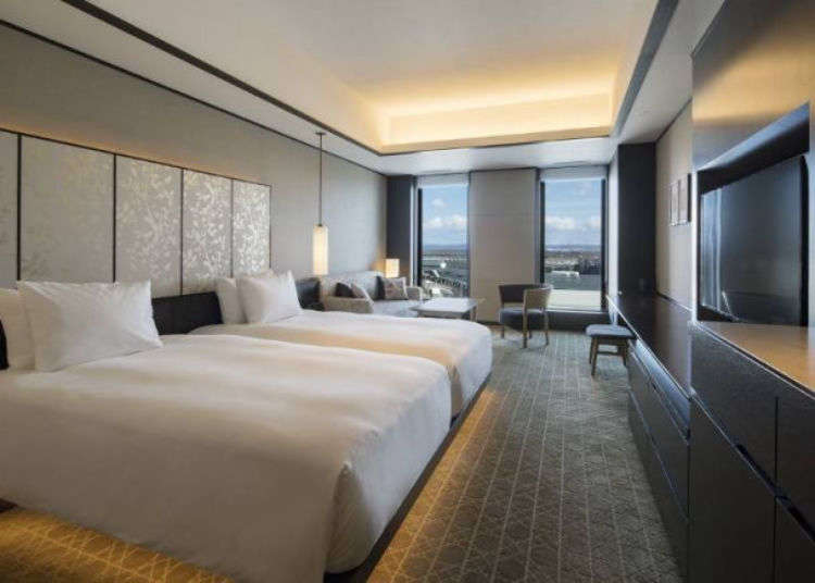 Hokkaido Luxury Hotels: Inside Portom International Hokkaido, Spectacular Accommodations at New Chitose Airport!
