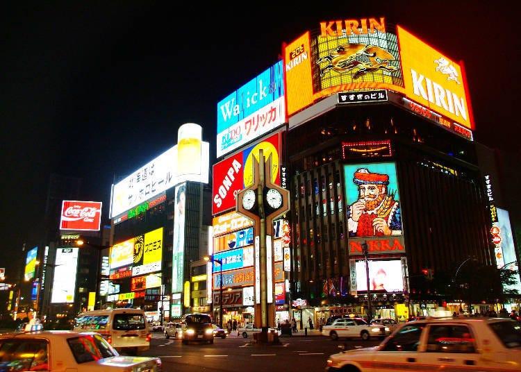 10. Hop into Susukino: Sapporo's neighborhood that never sleeps!
