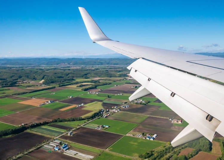 1. Flights from Tokyo to Hokkaido (Sapporo)