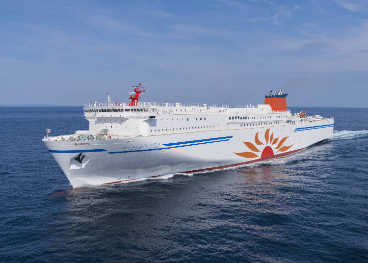 3. From Tokyo to Sapporo by Ferry