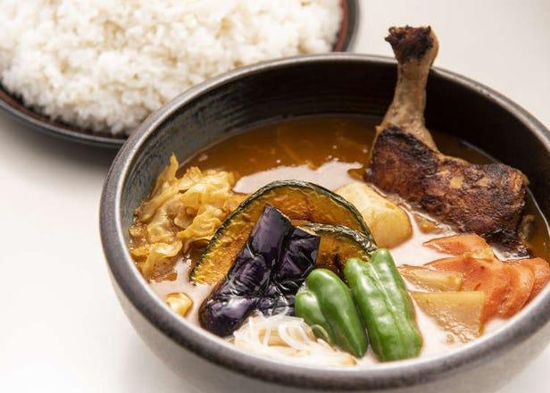 なまらデカいスープカレー!? 札幌で大人気「ひげ男爵」のデカ盛りメニューがうれしい