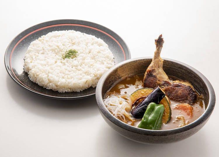 北海道有名的湯咖哩是什麼料理?