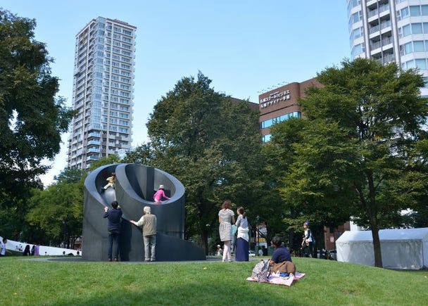 3. Relax at Odori Park