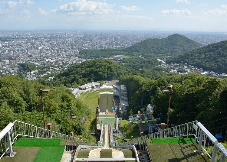 18. Get a ski jumper's view at Okurayama Observatory