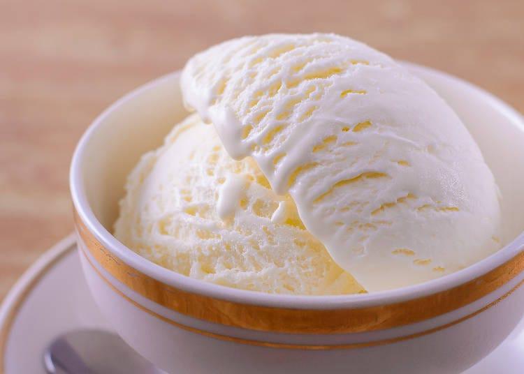 ■2:雪印パーラーで極上アイスを食べる