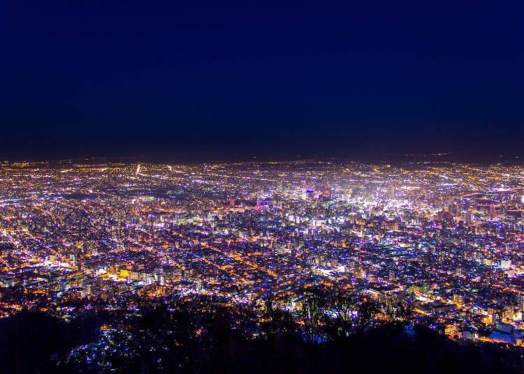 1. 觀賞札幌的百萬夜景!