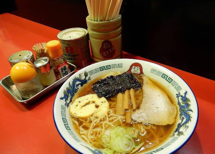 20. 到札幌的人氣拉麵店大吃一頓