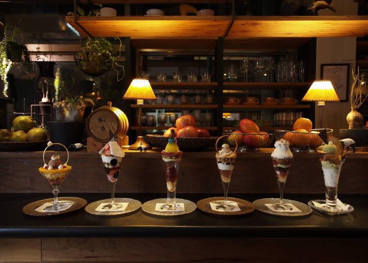【札幌2日遊行程之第1天】22:00 在「夜間聖代專門店 Parfaiteria miL」結束一天的行程