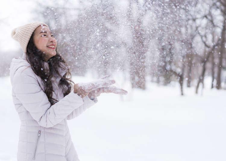 北海道行前必讀!12月、1月、2月冬天天氣&服裝建議總整理