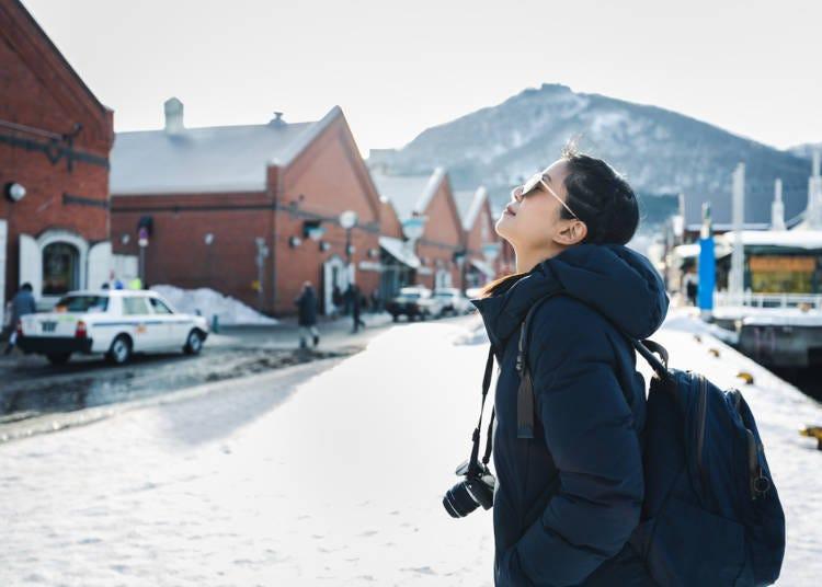 北海道冬季(12月、1月、2月)對付北海道獨特粉雪的服裝與必備物品