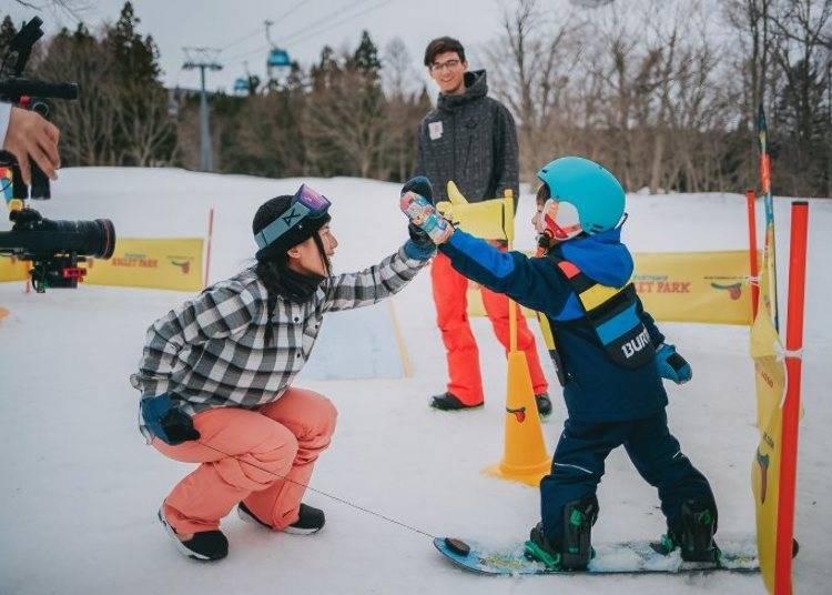 日本滑雪4大重點③想要親子同樂的話,可以選擇提供小朋友設施的場地