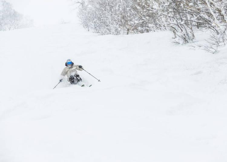 留壽都滑雪場②ISOLA山|ISOLA GRAND滑雪道:在留壽都最長的滑雪道享受長距離滑雪