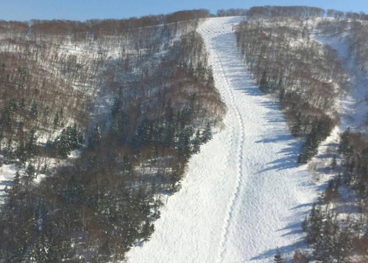 留壽都滑雪場③ISOLA山|ISOLA B滑雪道:留壽都必滑的知名未壓雪滑雪道