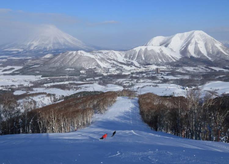 留壽都滑雪場⑥東山|EAST VIVALD滑雪道:可以欣賞羊蹄山美景的熱門滑雪道