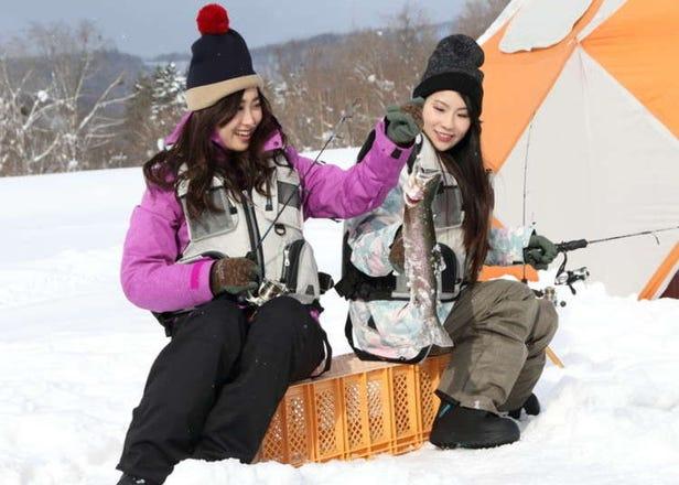 홋카이도 겨울 여행 - 루스츠 리조트는 스키, 스노우 보드 이외에 겨울 낚시도 가능!