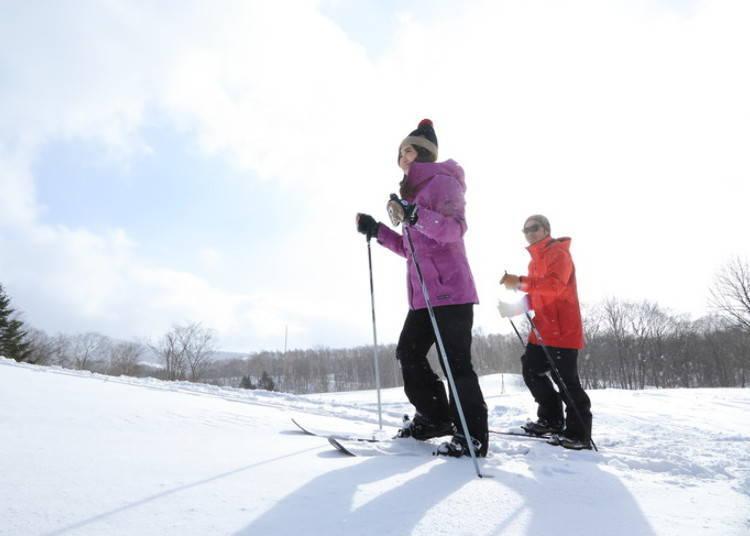 4. 用肌膚感受留壽都豐饒的大自然「雪上漫步」