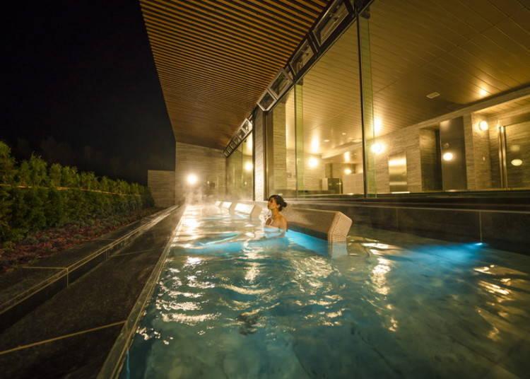 루스츠 리조트 호텔&컨벤션에 새로운 온천이 오픈