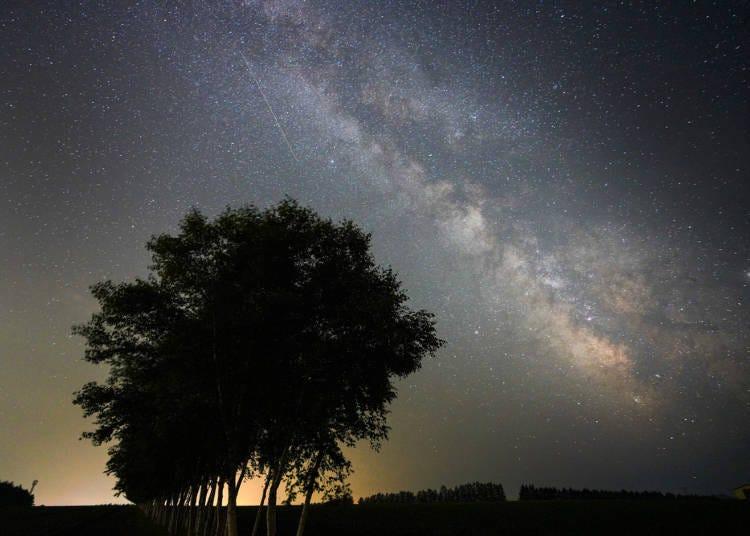 4.夜空に輝く満天の星。各地には天文台も