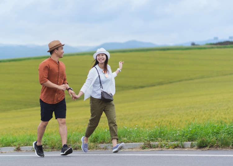 여름(7, 8월) 홋카이도(홋카이도)의 기후와 복장 가이드 【지역별로 해설】