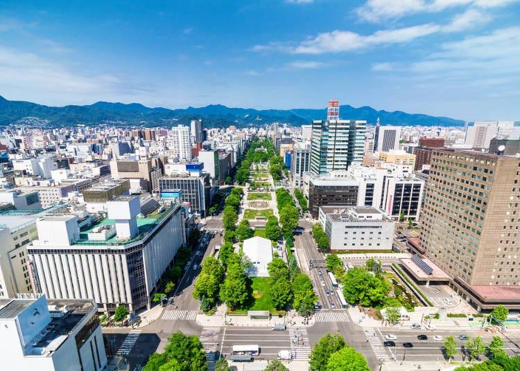 札幌の都市部では気温以上に体感温度が高め
