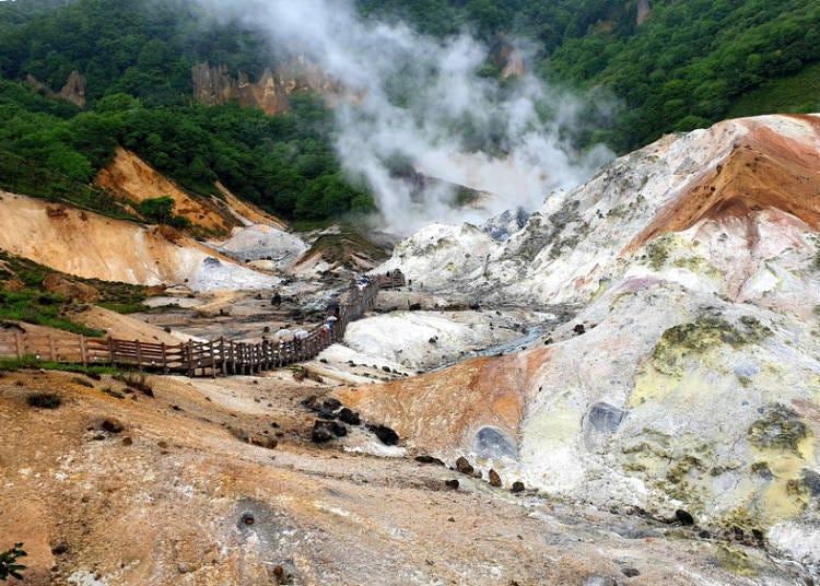 The power of Noboribetsu and Jigokudani, and comfortable hot springs