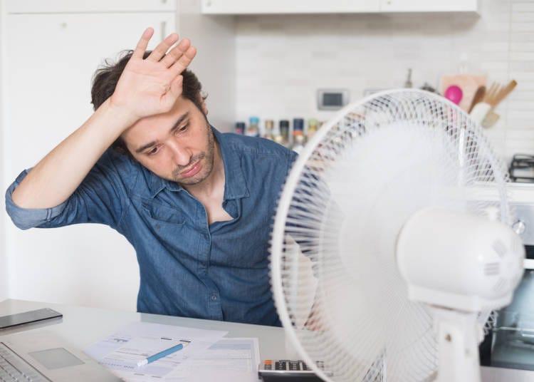 沖縄より暑い日に泊まった宿にエアコンがなかった!