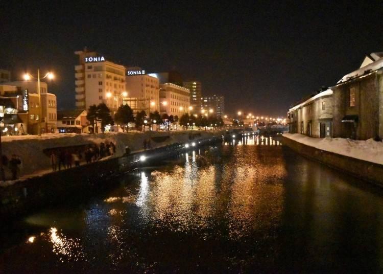 1.小樽運河の穴場的スポット「北運河」