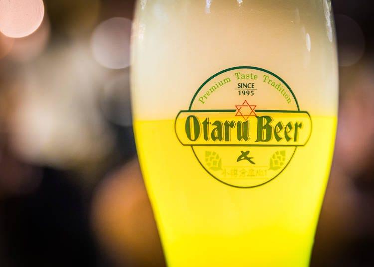 7.誰にも似ていないオリジナルなテイスト「小樽ビール」に舌包み