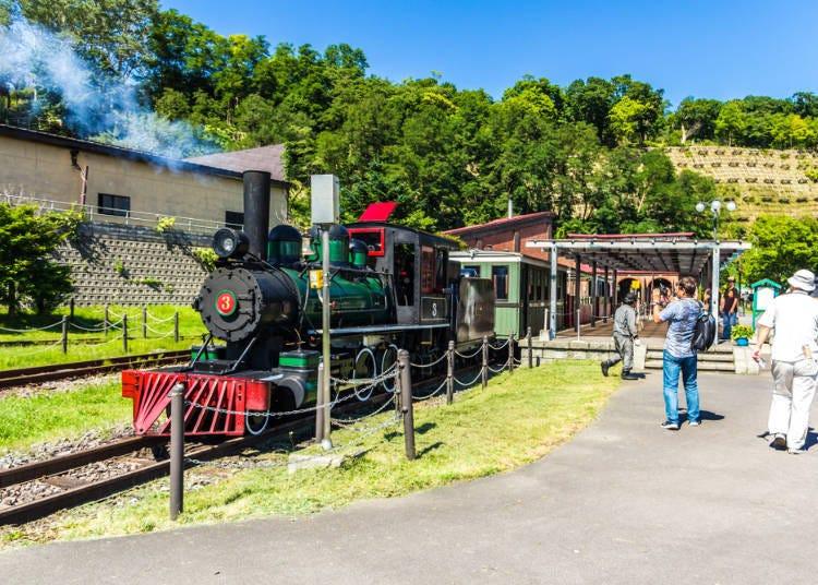 6. '오타루시 종합 박물관 본관'에서 홋카이도 철도의 역사에 대해 배우다
