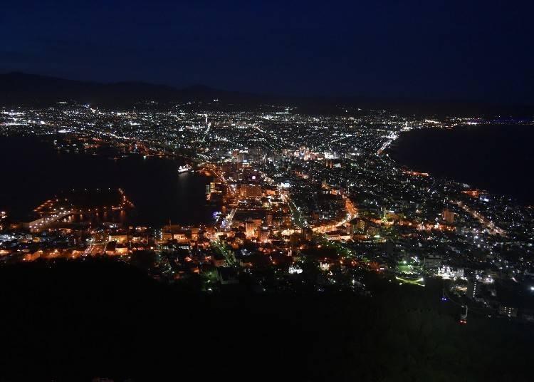 100만불짜리 야경 「하코다테야마(하코다테산)의 야경」을 바라보자