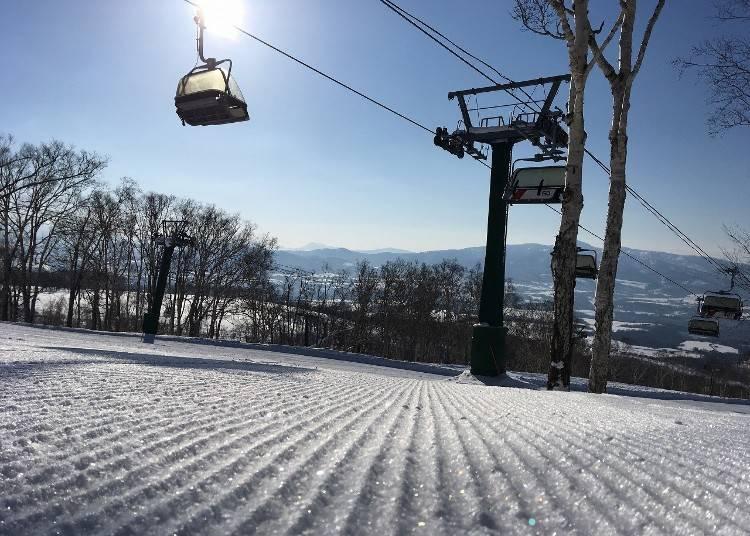 2.「ニセコアンヌプリ国際スキー場」で冬はパウダースノー三昧