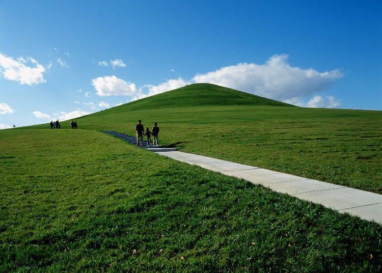 莫埃來沼公園推薦設施②可以一覽札幌市整體的地標「莫埃來山」