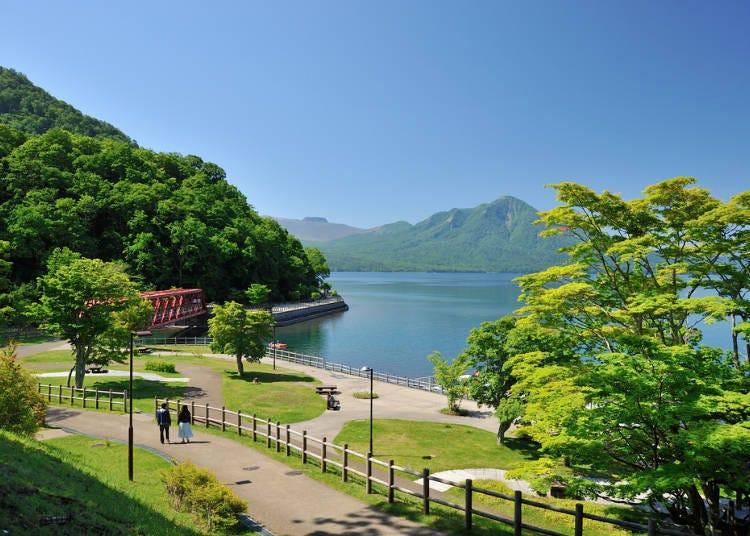 北海道9天8夜自由行之第1天:從新千歲機場前往支笏湖