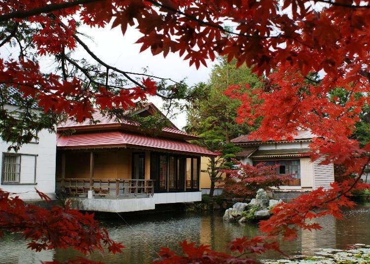 (8)일본스러운 정취가 느껴지는 '우메무라 정원'