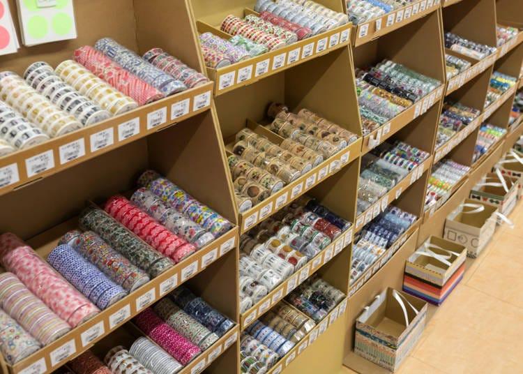 ●使い方いろいろ!色も柄も豊富な「マスキングテープ」