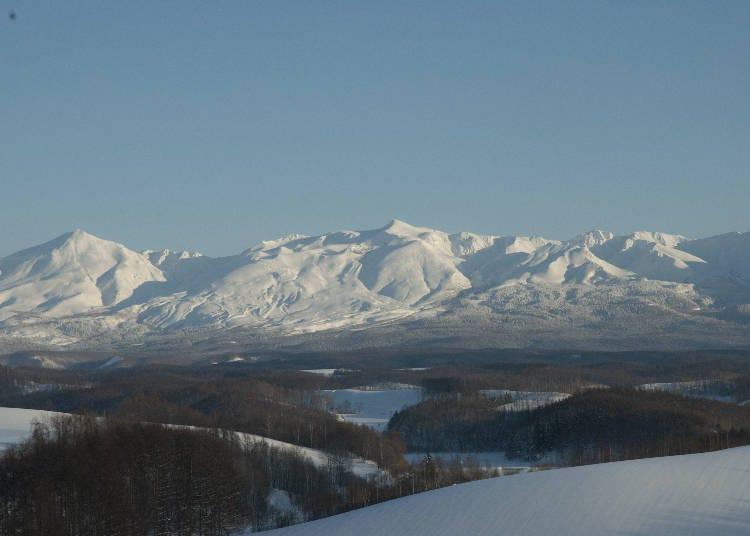 冬天的四季彩之丘彷彿是另一個世界「雪樂園」!