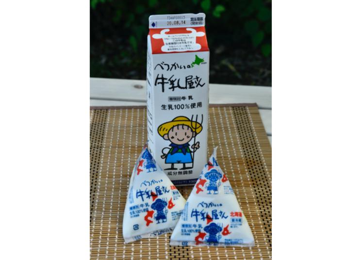 北海道牛奶品牌①別海的牛乳屋San(別海乳業興社)
