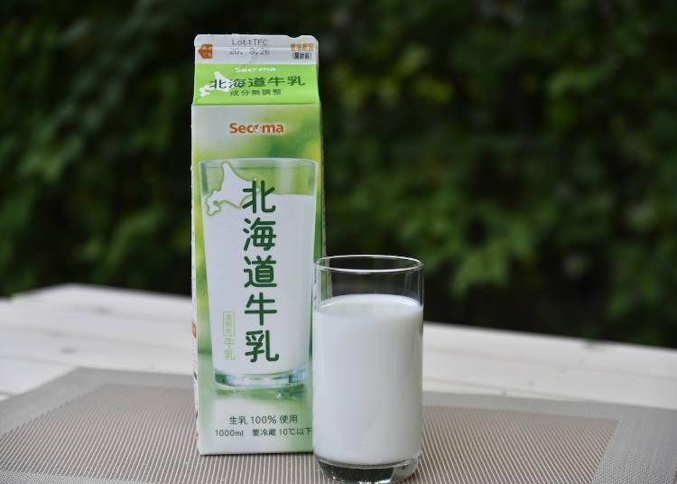 試喝感想:SECOMA的【Secoma北海道牛奶(1公升)】