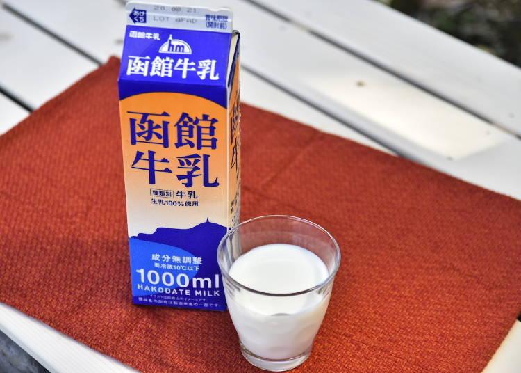 試喝感想:函館酪農公社【函館牛奶】
