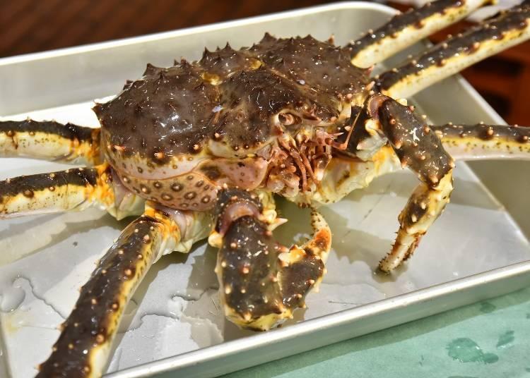 Q. 遊客最愛的螃蟹是哪一款呢?