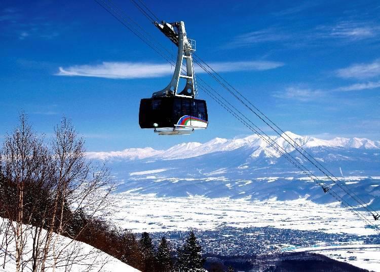 滑雪路线-富良野ZONE