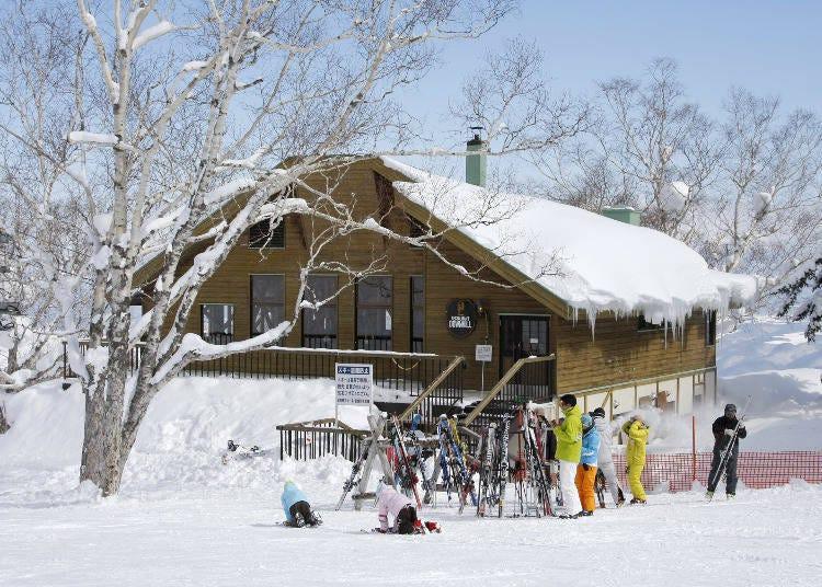 富良野滑雪场的滑雪场餐厅