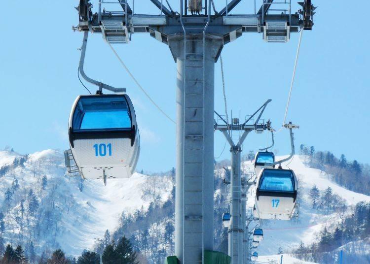 滑雪路線-北之峰ZONE