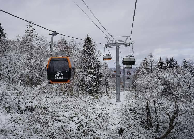 Kiroro滑雪場吊椅券的種類和購買方法