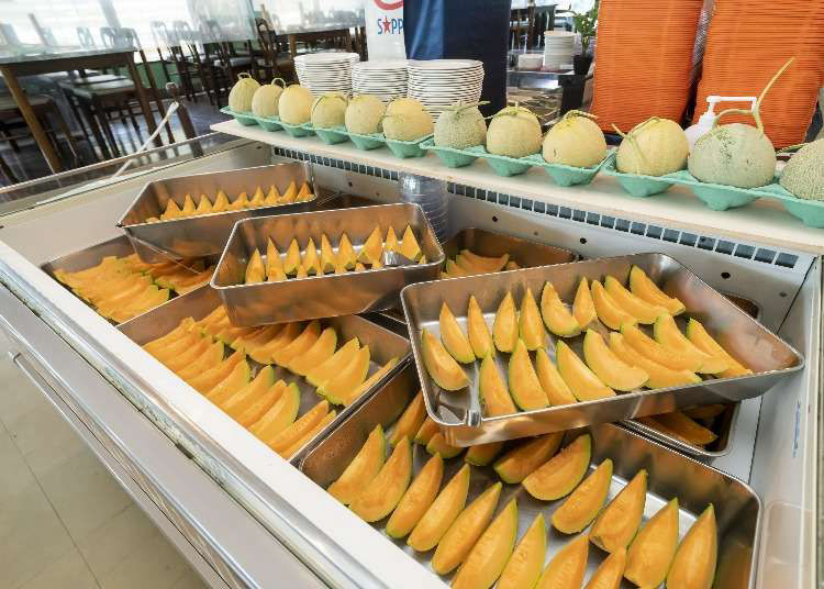 Get Insane All-you-can-eat Yubari Melon at Yubari's Summer-only Buffet!