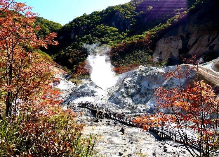 番外篇:登別地獄谷的秋冬美景