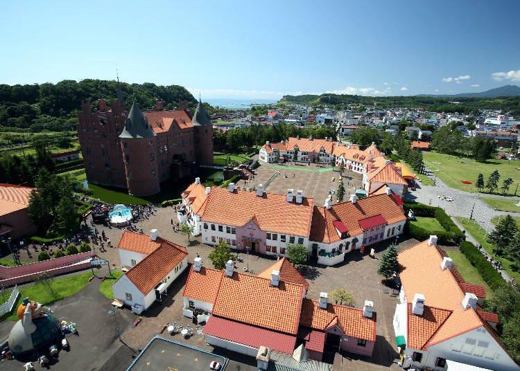 登別主題樂園①整座城堡都是水族館【登別尼克斯海洋公園】