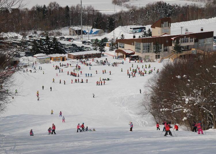 어린이부터 해외의 스키어까지 대응하는 스키 스쿨