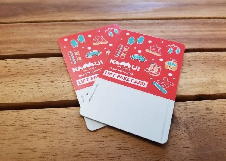 神居滑雪場的吊椅券:購買方式有線上購買、現場售票處兩種